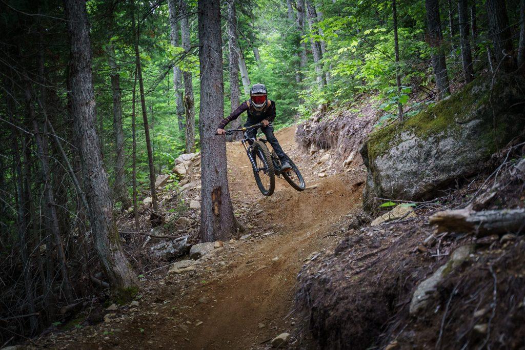 Vélo de montagne au Massif de Charlevoix